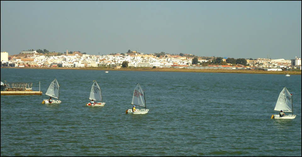 river between Ayamonte and Vila Real