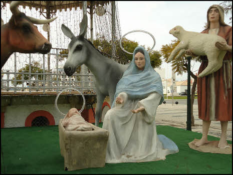 Christmas nativity in the Algarve