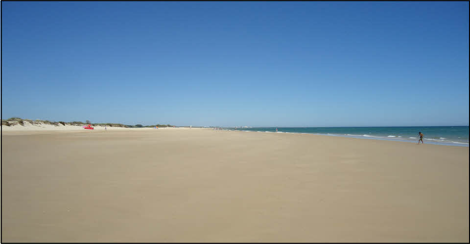 the sands at fabrica beach in the algarve