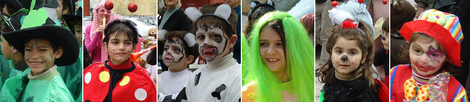 the childrens' Algarve carnival